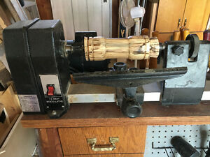 "Craftsman Wood Lathe - 12"" X 48"" - Very Stable"