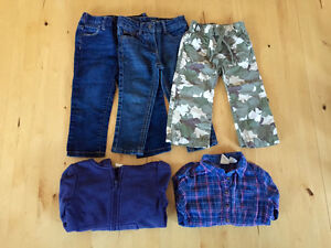 lot vêtements fille 18-24 mois: H&M, Joe Fresh, etc