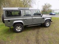 2008 58 reg Land Rover 110 Defender 2.4TDi XS netherton vans ltd