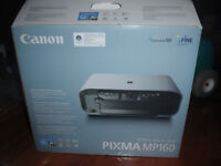 canon pixma mp160brand new in box never set up,bought from stapl