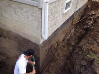 Foundation Waterproofing, Weeping Tile and Sump Pumps