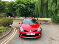 2006 Renault Clio 1.4 16v Dynamique 5 Door Hatchback Red (46,000 MILES)