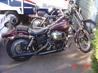 1983 Harley Davidson FXDG Willie G Special Edition Parts