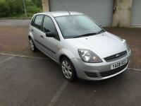 2008 Ford Fiesta 1.25 Style 5 Door Moondust Silver Metallic