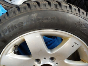 Winter tires Hankook 205/55/16.