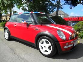 Mini Cooper 1.6 2002 FSH TOP SPEC COMPLETE WITH M.O.T HPI CLEAR INC WARRANTY