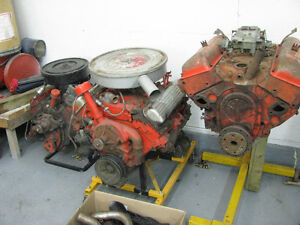 VINTAGE   GM Motors  283   348   394  Run in Stand