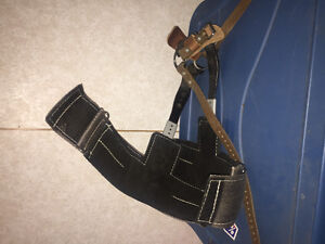 Lineman harness and spurs