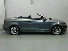 Audi a3 2015 1.6 diesel cabriolet, A1 condition inside and out, 18,200 miles, 1 previous owner