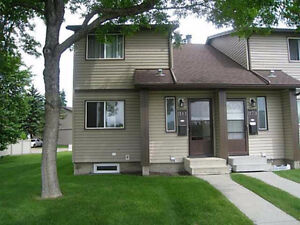 Townhouse for Rent in Hermitage / Clareview - October 1/2 Rent