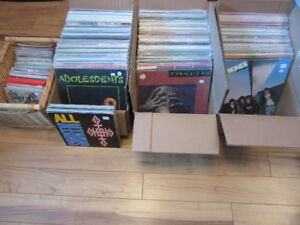 "Mostly Punk/Metal Records (LP's/45's + 10"" records)"