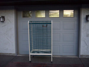LARGE DELUXE BIRD CAGE (like new condition $850 original cost)