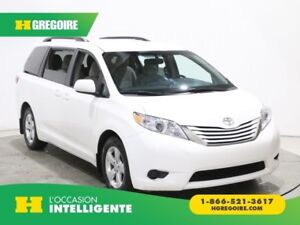 2017 Toyota Sienna LE 8PASSAGERS A/C GR ELECT MAGS BLUETOOTH CAM
