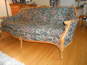 Gracious Old Couch and Chair. Peterborough Peterborough Area image 3