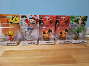 Selling Smash Bros Amiibos (Collectibles)