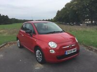 2010/59 FIAT 500 1.2 POP, PETROL, MANUAL, 3-DOOR ***BRAND NEW MOT & SERVICE** **LOOKS & DRIVES GREAT