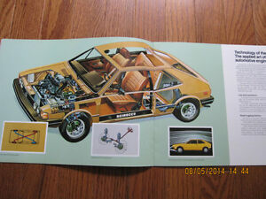 1979 VW Scirocco Dealer Brochure London Ontario image 3