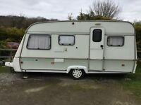 Swift Danette touring caravan