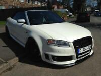 AUDI RS4 CONVERTIBLE 2006 PEARL WHITE MANUAL GREAT SPEC
