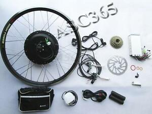 "26"" Electric Bike Bicycle Motor Conversion Kit eBike Rear Wheel 48V 500W 260251"