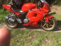 2006 hyosung gt125r £650>>no cash offers at all