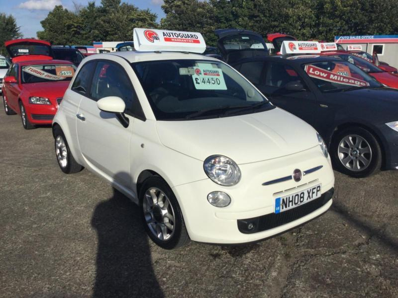 2008 fiat 500 1 2 sport in newcastle tyne and wear gumtree. Black Bedroom Furniture Sets. Home Design Ideas