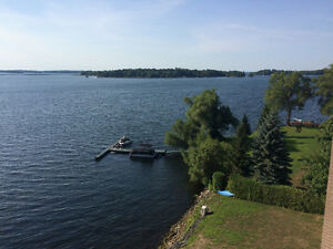 Spectacular view of the 1000 Islands on the St.Lawrence river.
