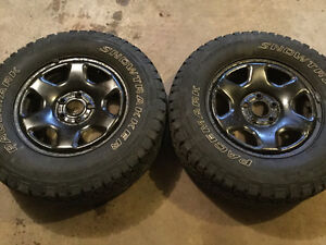 2-FORD ESCAPE WHEELS with sensors 235 70 16 tires