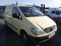 MERCEDES VITO 109 CDI COMPACT SWB, Yellow, Manual, Diesel, 2007