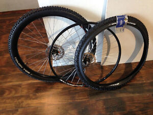 29er Alexrims ASD10 AllTerra wheelset, Schwalbe Tough Tom tires