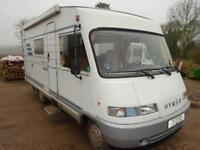 1997 Hymer B564 LHD 4 Berth Over Cab Bed A Class Motorhome For Sale Ref 13633
