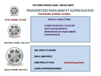 Transferts video sur DVD