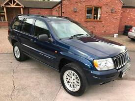 2003 Jeep Grand Cherokee 2.7 CRD auto Limited * Diesel 4x4 - Tow Car*