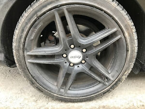 Looking for one 18 inch x 8 inches front amg package rim/mag