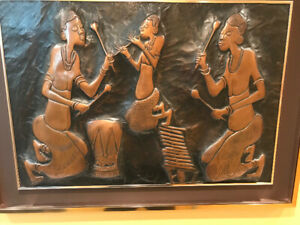 African art in copper