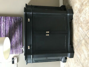 Large Black Console Table