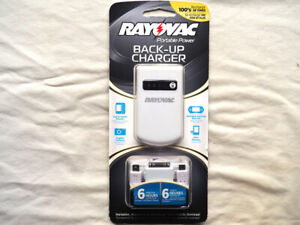 Rayovac Portable Back-up Device Charger