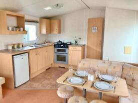 Static Holiday Home Caravan in North Norfolk Nr Wells.200m to Beach Pet Friendly