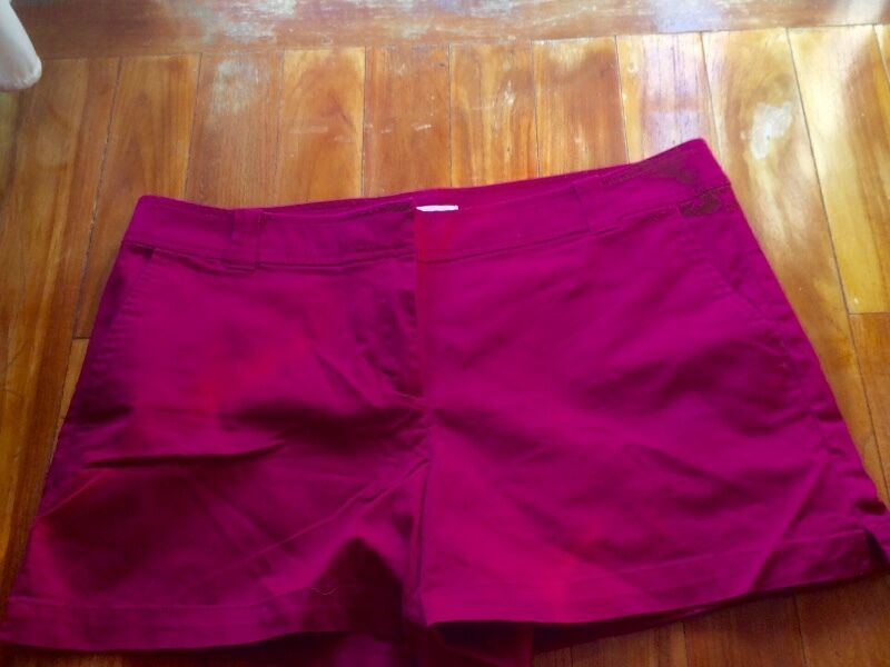 New Plus Size Dark Pink Shorts from New York Company XL
