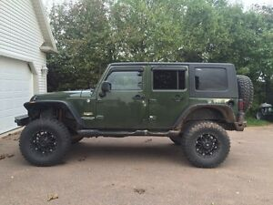 2007 4 door Jeep Wrangler