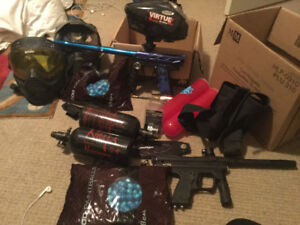 *HEAVILY* upgraded ION XE paintball gun- TONS of extras/gear
