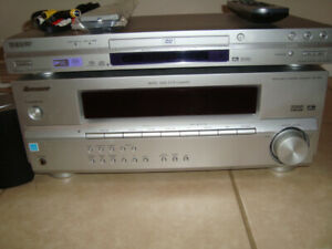 Pioneer SX-315 5.1 200W Audio Multi-Channel Receiver w. Sony DVD