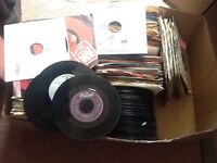 45 RPM Records Mixed Lot 60-80's Two Boxes Full Jukebox Fillers