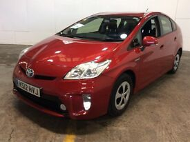 TOYOTA PRIUS HYBRID 2012 12 PLATE FULLY TOYOTA SERVICE HISTORY 99800 MAILES 1 COMPANY OWNER