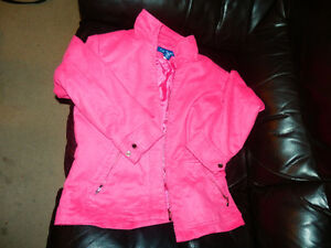 CUTE! Ladies Stylish Pink Spring Jacket SIZE MEDIUM