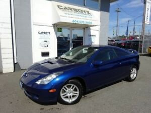 2001 Toyota Celica GT, 5 Speed, NO Accidents!! Only 158,428 Kms.