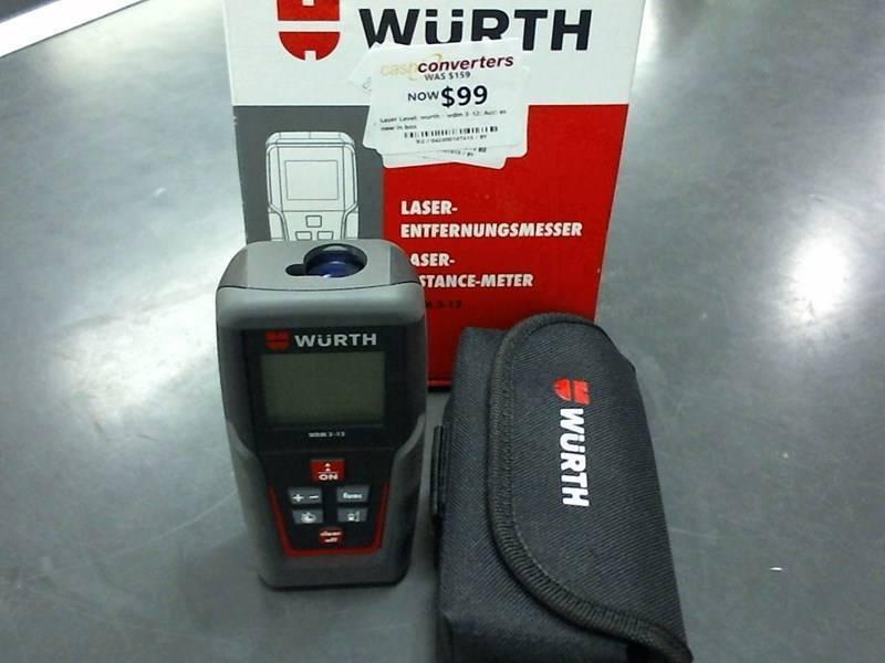 Laser level wurth wdm master handheld laser measure