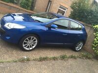 "Renault Megane 2010 1.6 Low miles hpi clear 18"" alloys"