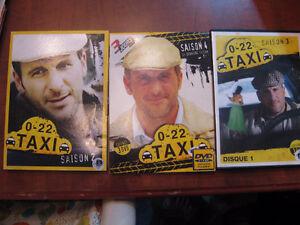 Cofret DVD : 0-22 Taxi Saison 2-3-4