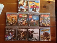 10 Ps3 Games MINT FOR SALE